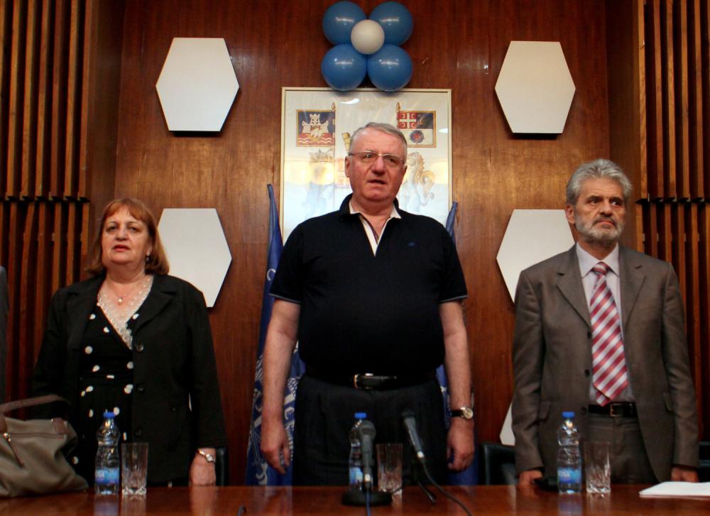 Vjerica Rade, Vojislav Seselj and Zoran Krasic