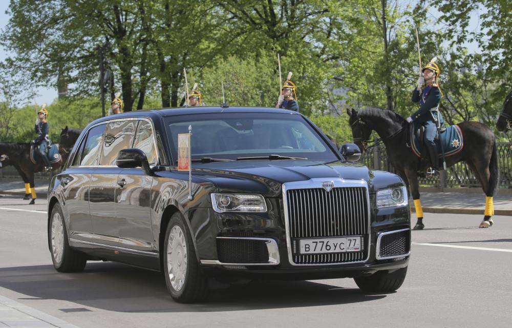 Putinov automobil Kortež