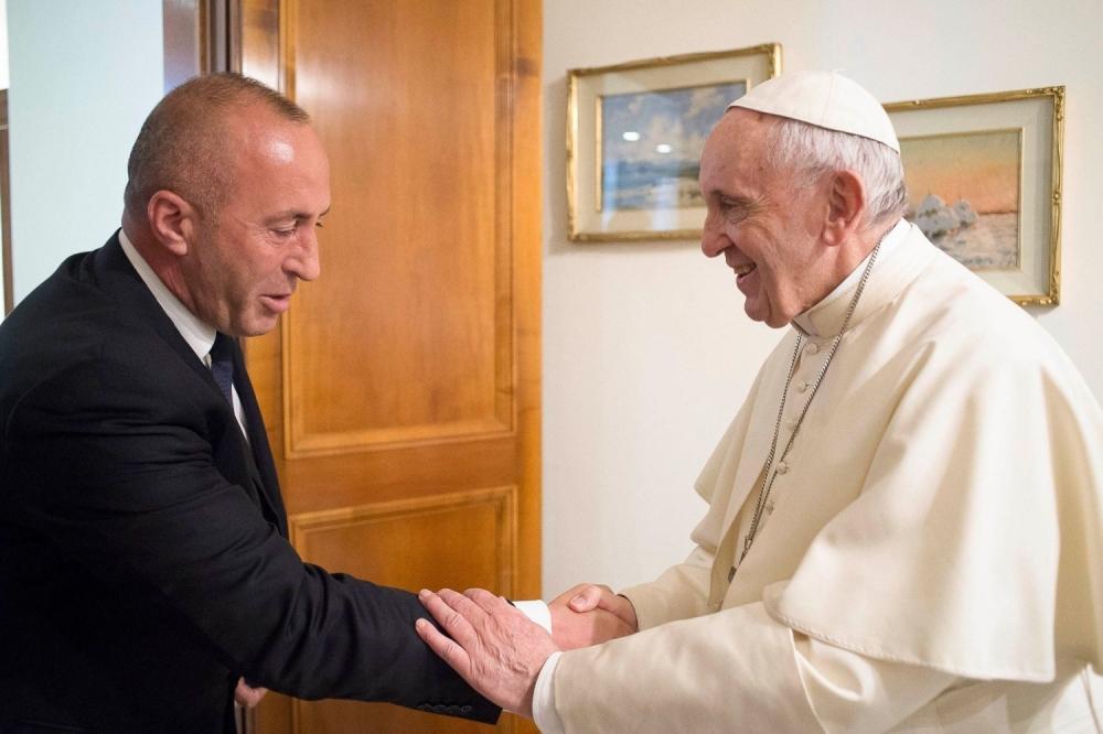 Haradinaj se uzda u podršku papa Franje - alo.rs