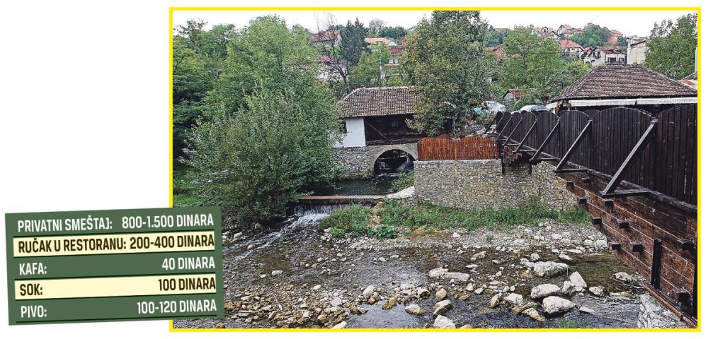 Valjevo, reka Gradac