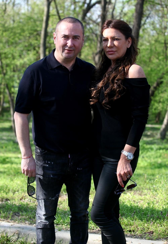 Radiša Trajković Đani sa suprugom Slađom