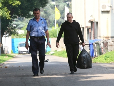 Zoran Marjanovic was released to defend himself against freedom