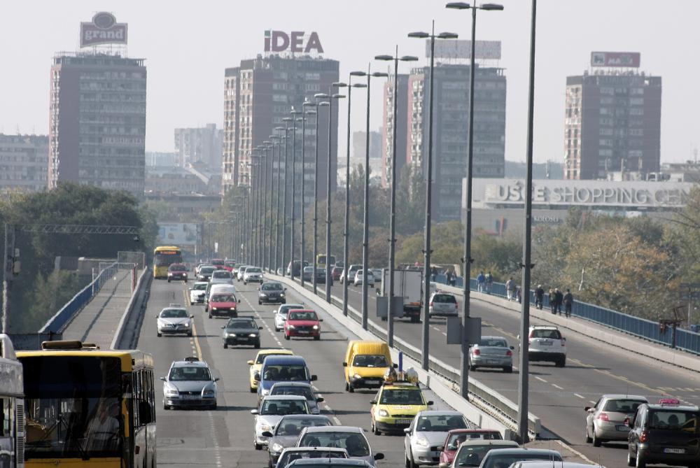 Beograd, saobraćaj, Brankov most, prevoz