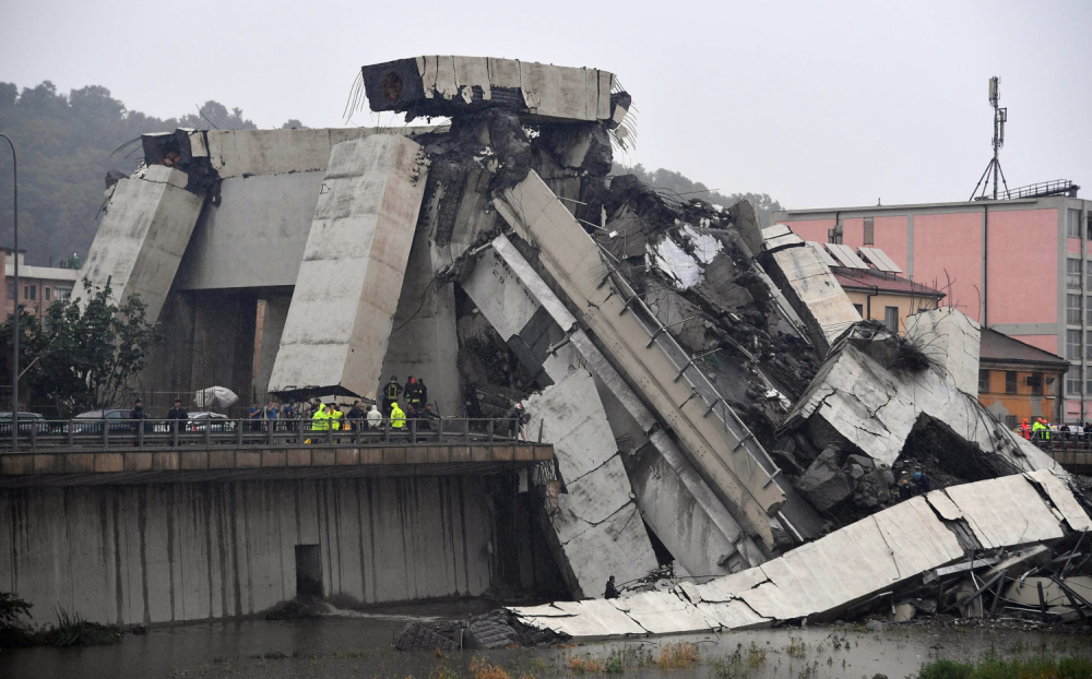 Vijadukt most Đenova