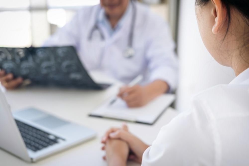 Doktor, bolnica, pregled, pacijent, rak, kancer