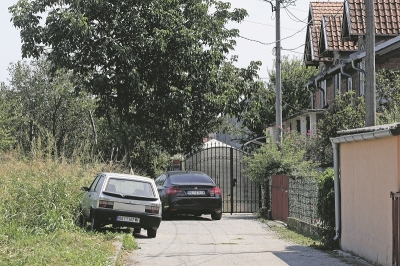 The house of Marjanovic was left empty