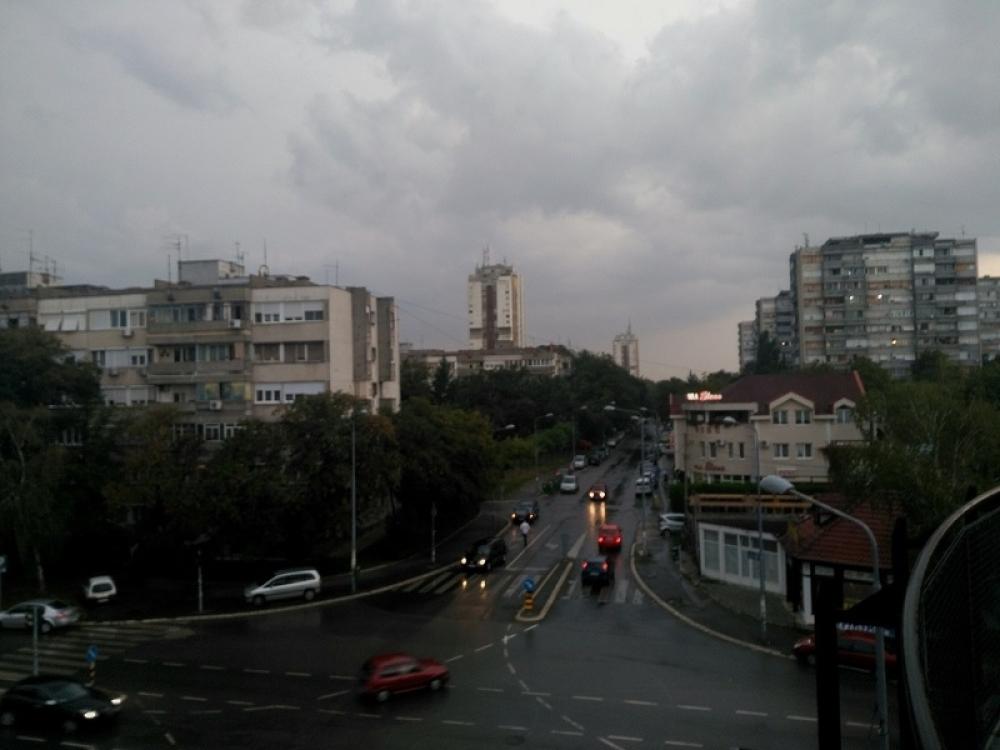 Dive over Belgrade