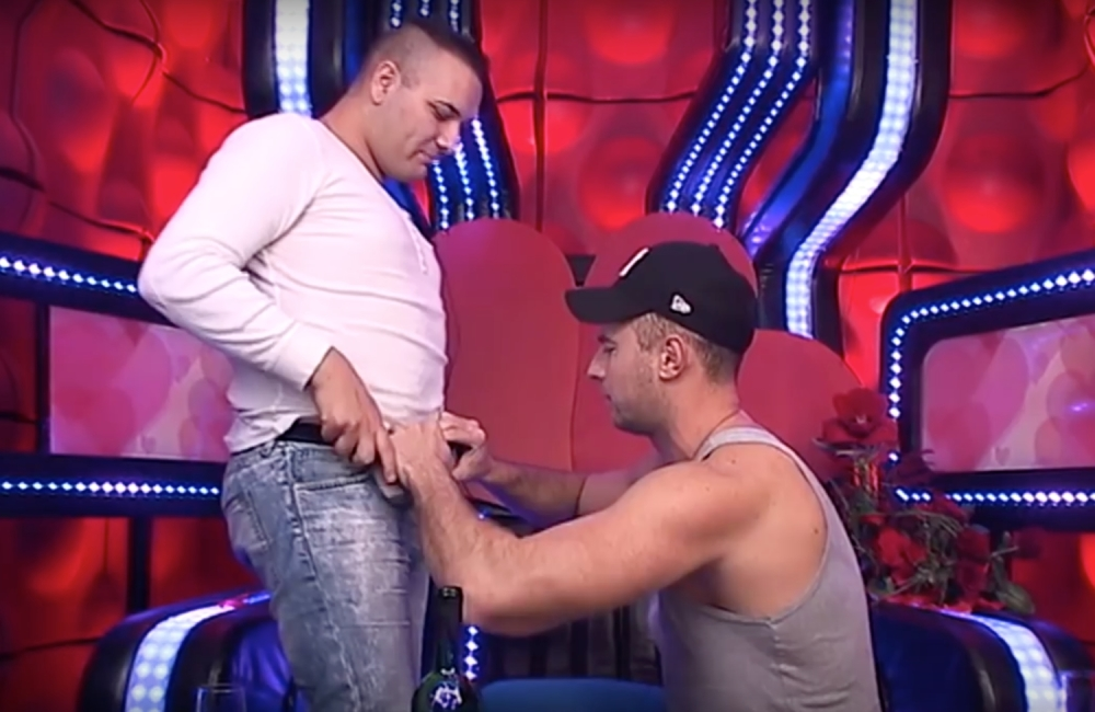 Gay sex uhvaćen na video