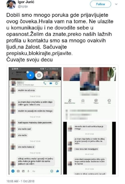 Igor Jurić gave a warning