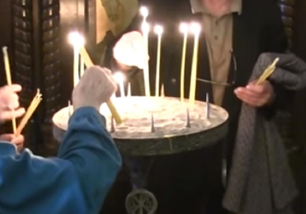 Zadušnice, sveća, sveće