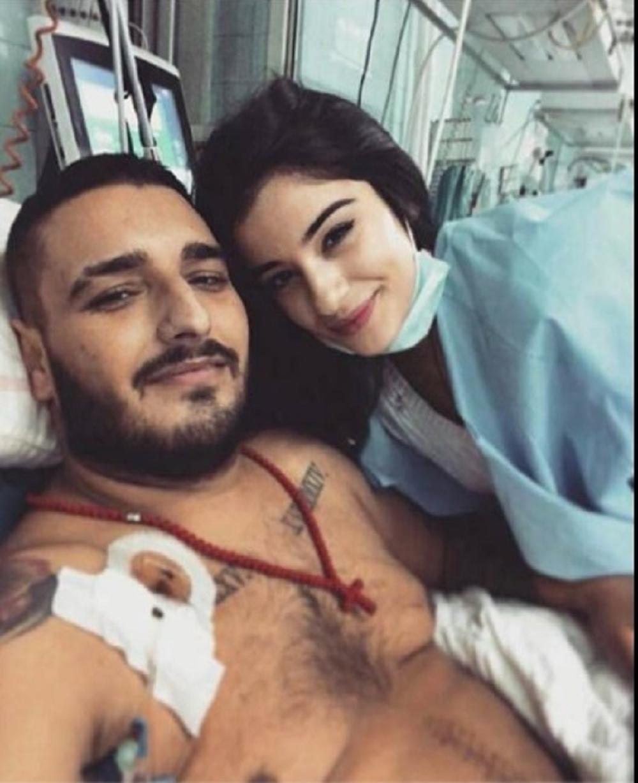 Darko Lazić, bolnica, Marina