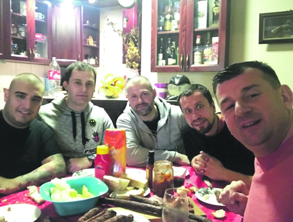 Darko Lazić s muzičarima
