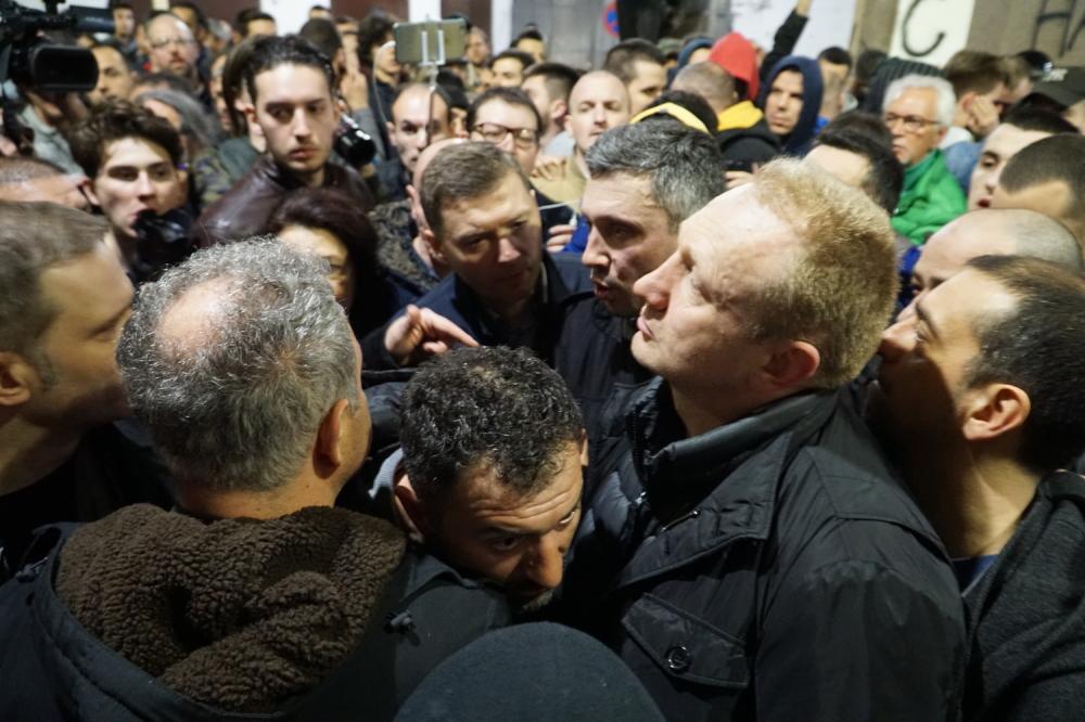 Demonstranti upali u RTS