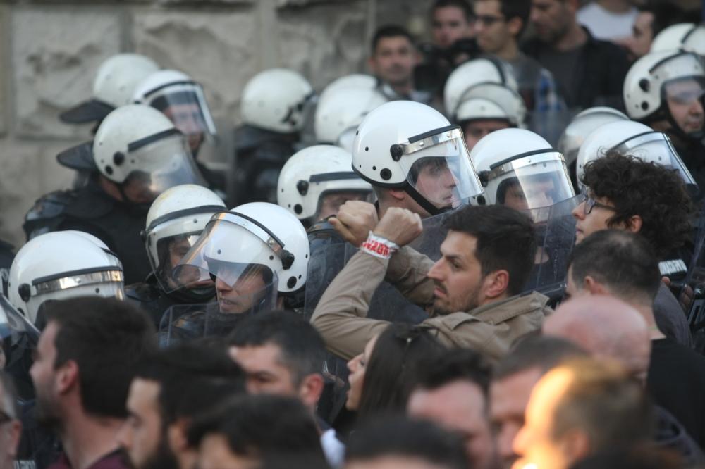 Protest, neredi, Beograd