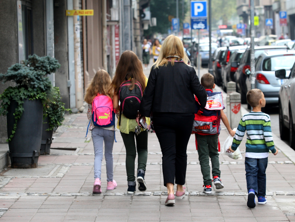 Beograd, škola, đaci