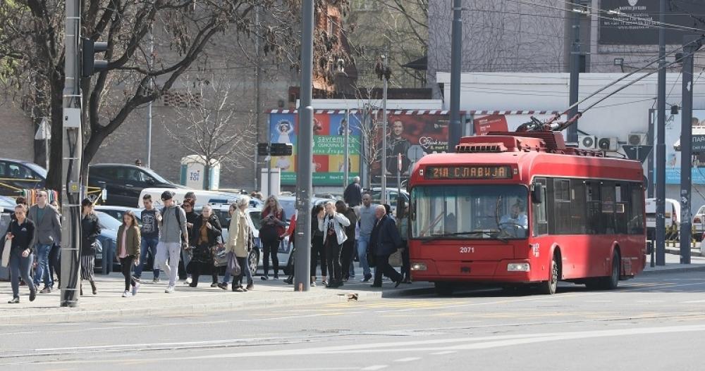 Beograd, centar beograda, ulice, saobraćaj, prevoz, slavija