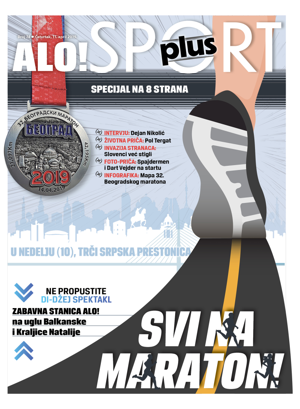 Sport plus, cetvrtak 11. april