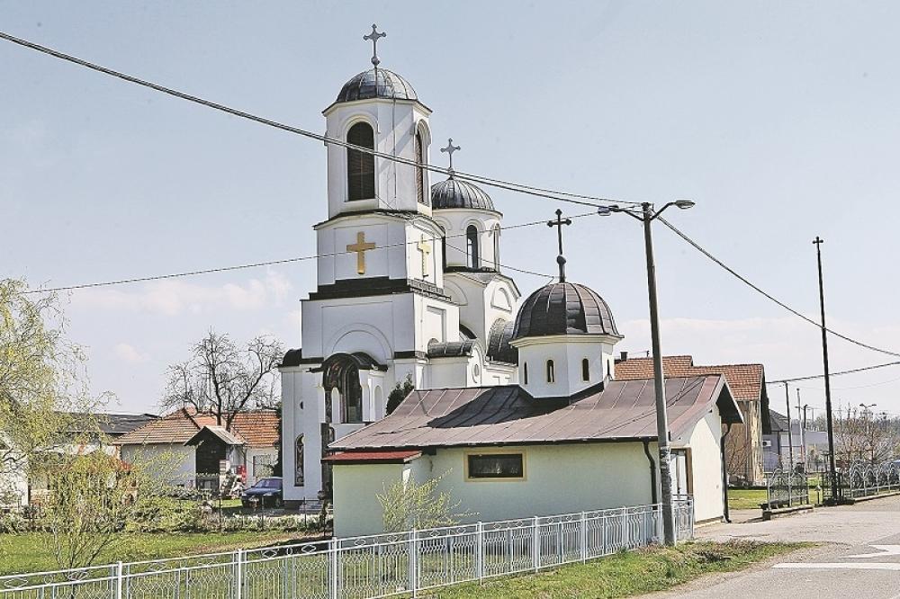 Crkva u selu Glavičice
