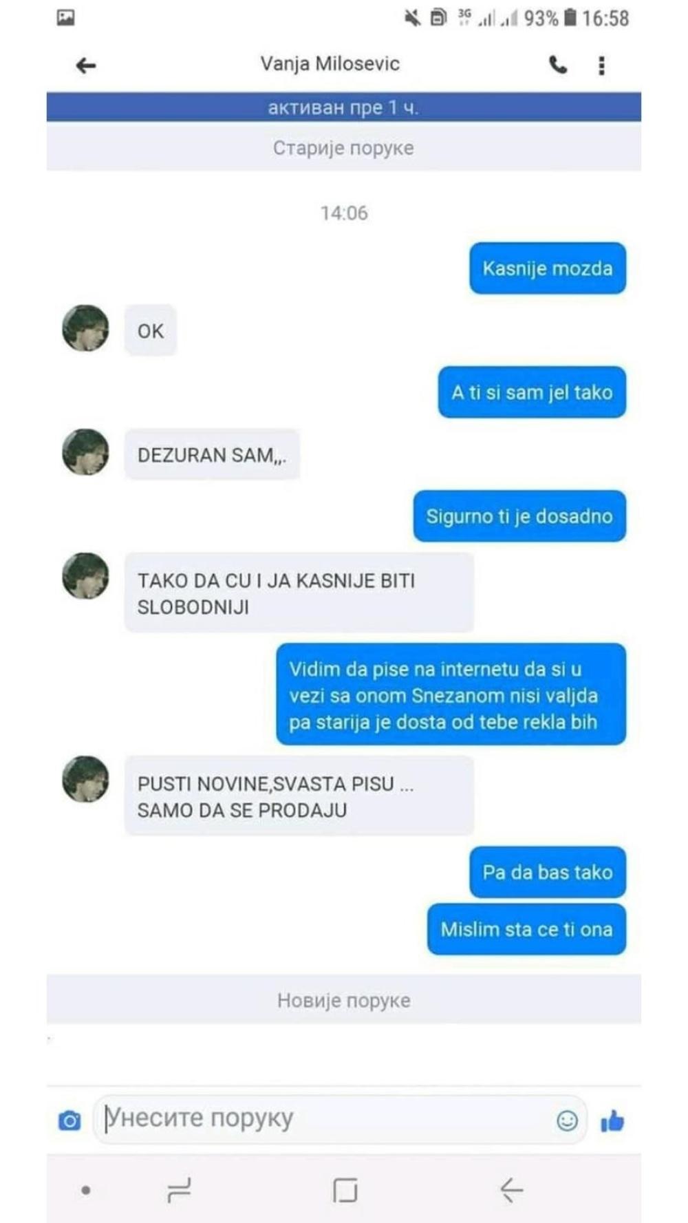 Internetsko upoznavanje prva poruka momku