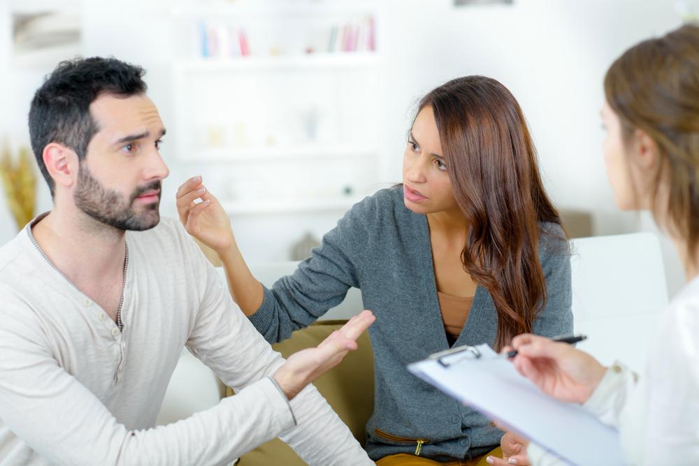 Brak, terapija, svađa, raskid, razvod, pomirenje