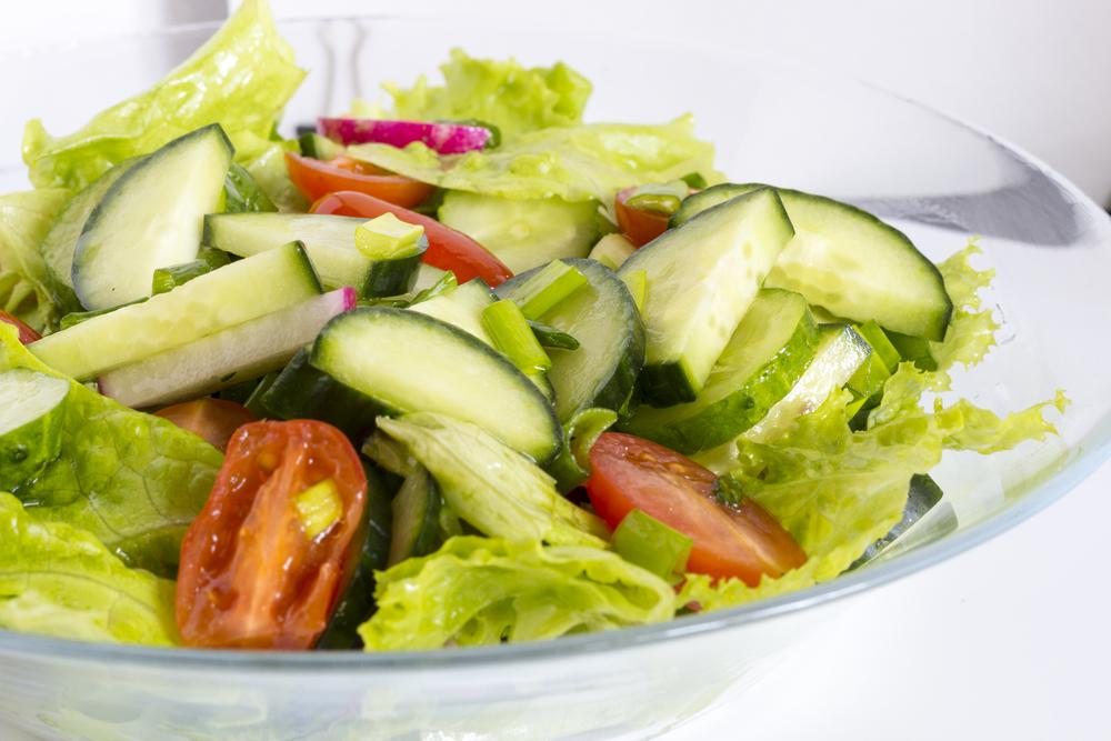 salata, jelo, ručak, obork, šopska salata