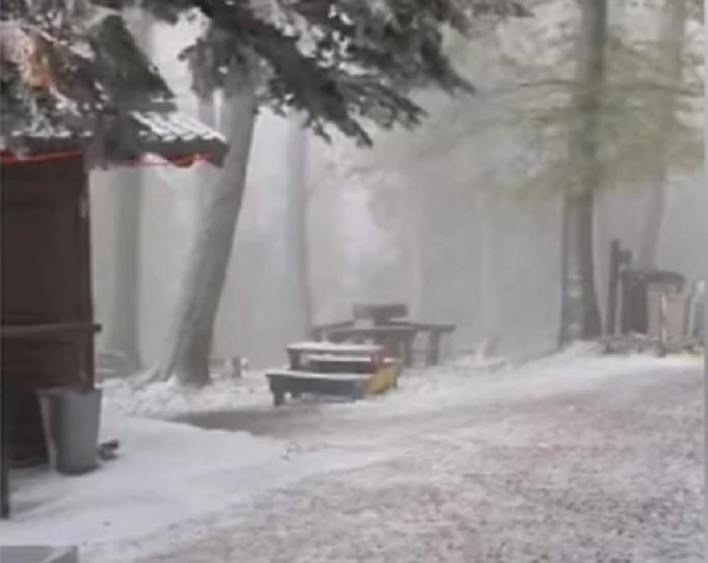 Hrvatska, sneg