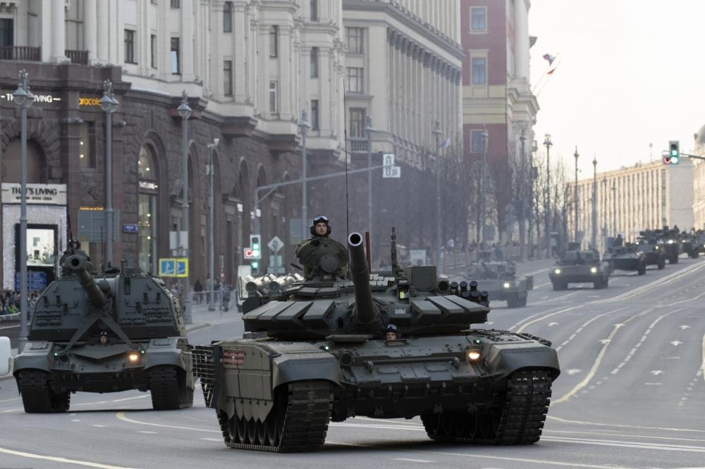 Dan pobede, vojna parada, Rusija