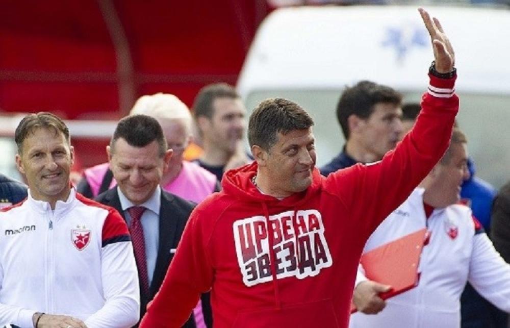 Vladan Milojević, trener Crvene zvezde