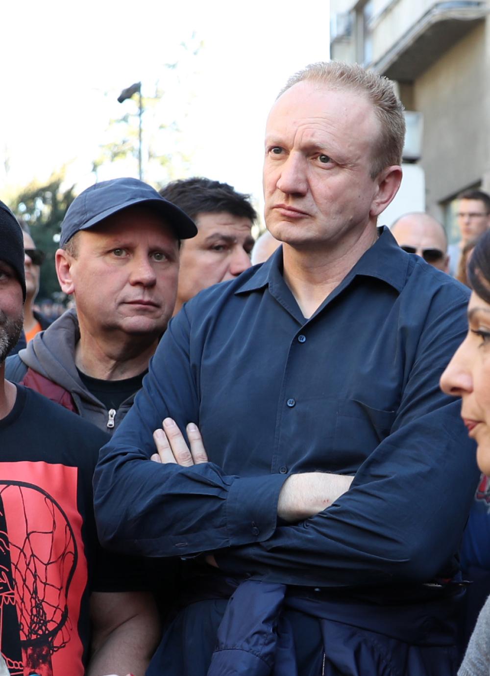 Dragan Đilas i Mlađan Đorđević