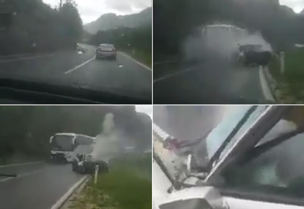 Saobraćajna nesreća kod Jablanice