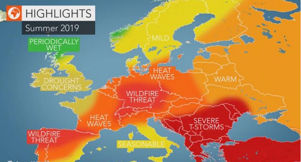 Najnovija Prognoza Za Vikend Biće Kiše Stižu Pljuskovi
