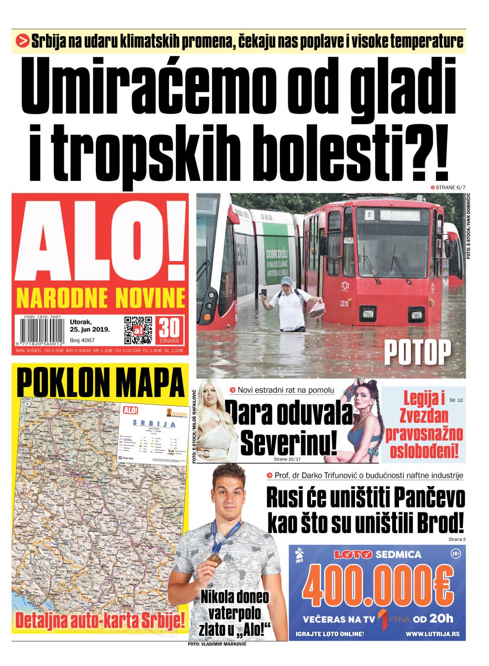 Srbija Na Udaru Klimatskih Promena Eekaju Nas Poplave I Visoke