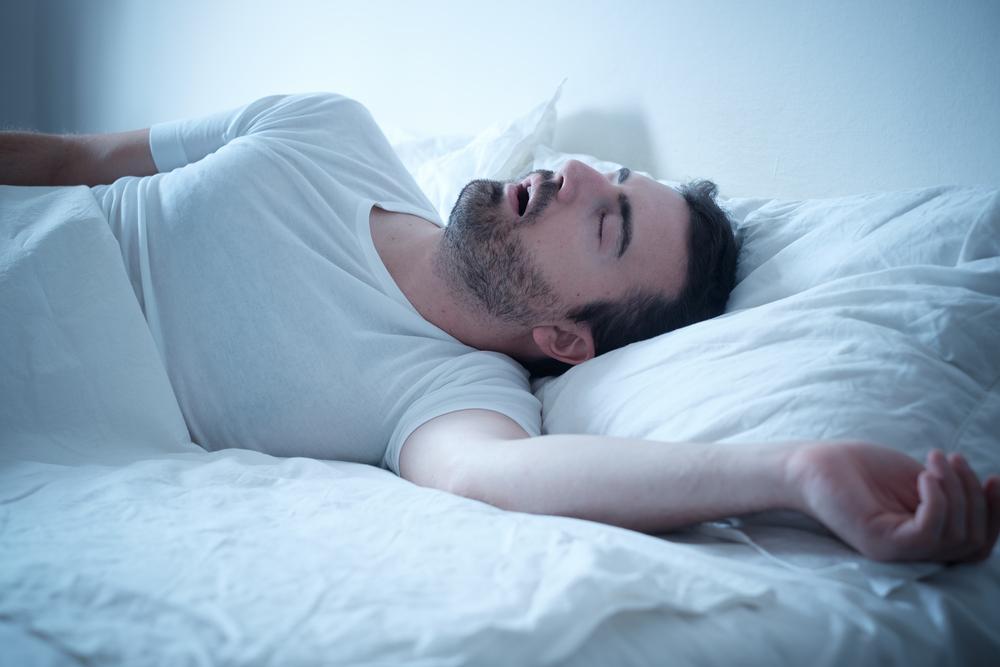 spavanje, hrkanje, muškarac