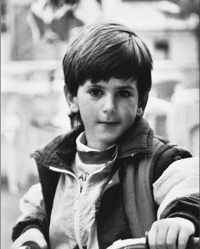 When he was small, Novak Djokovic