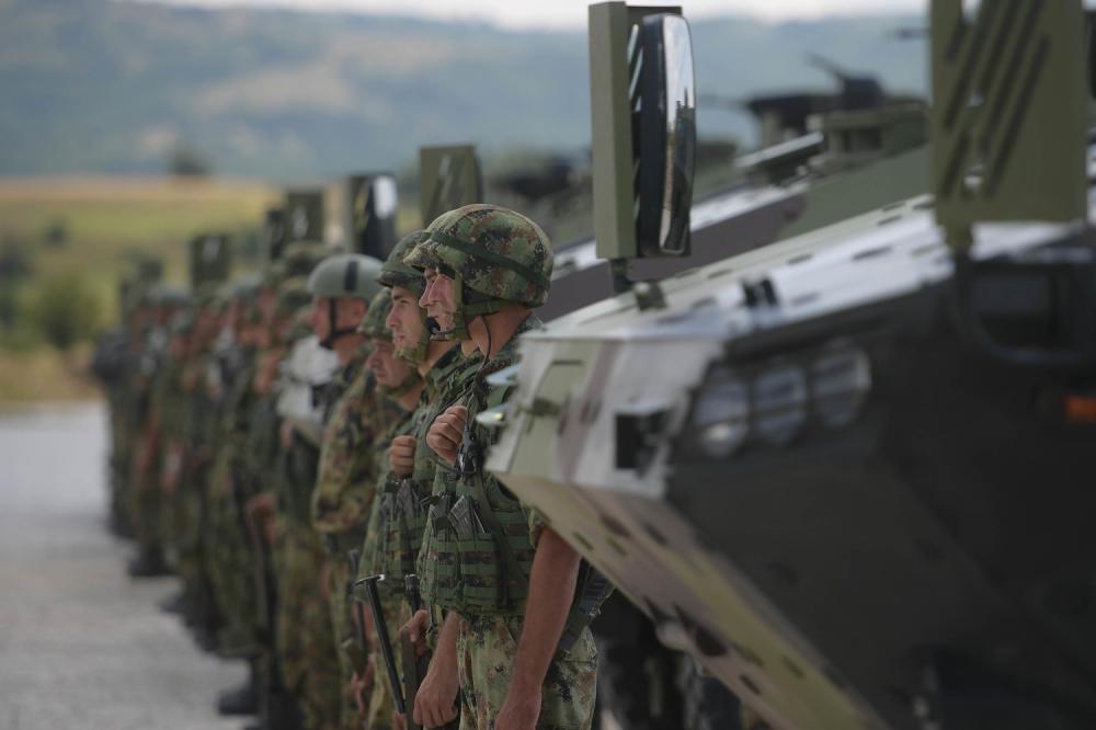 lazar 3, vojska srbije