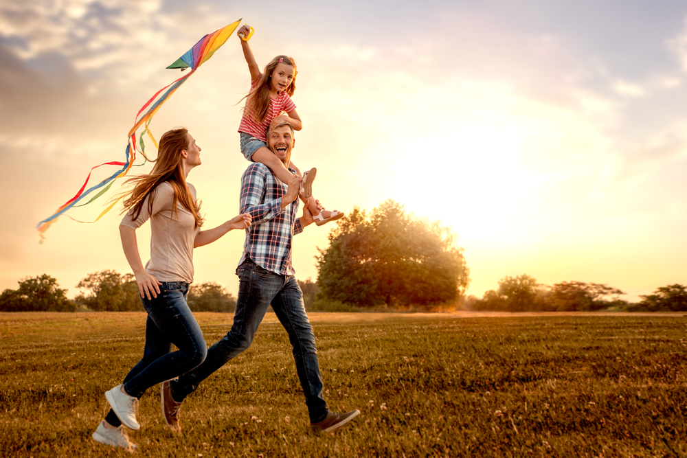 sreća, porodica, žena, dete, muž, brak