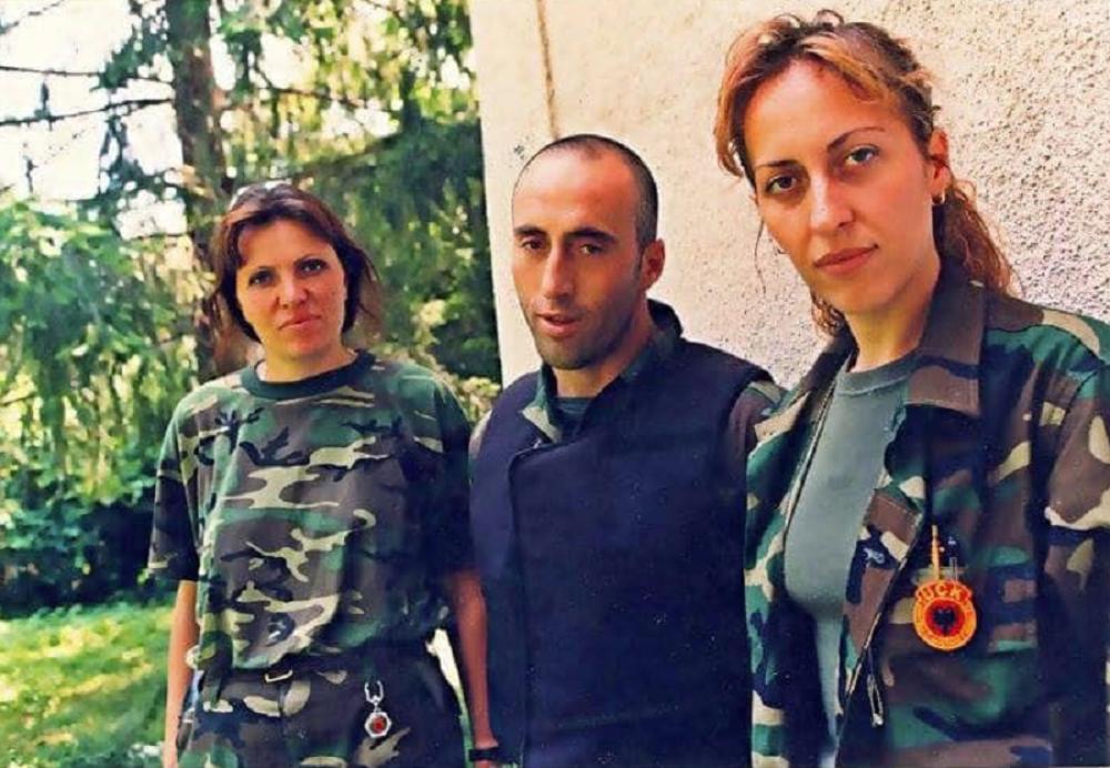 Time Kadrijaj i Ramuš Haradinaj