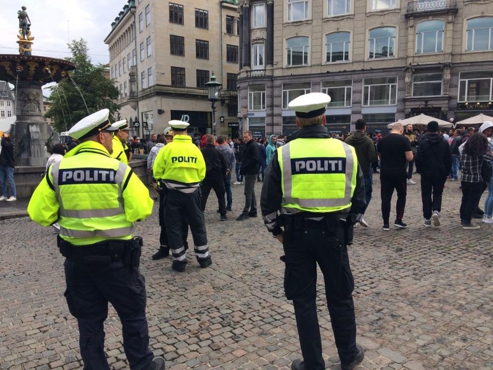 Kopenhagen - Crvena zvezda pre početka utakmice