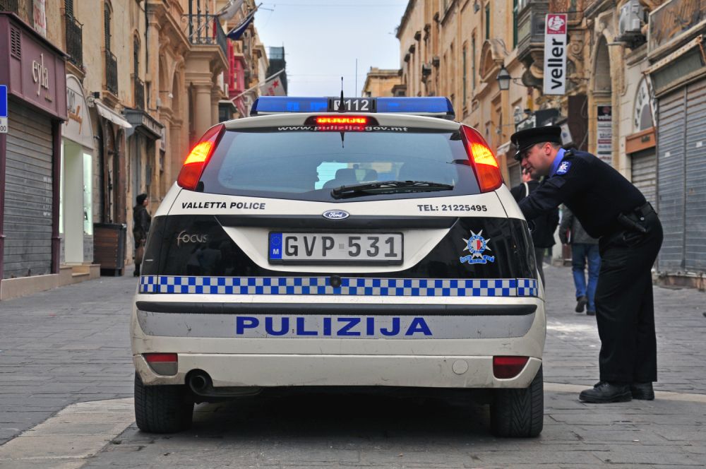 Policija, Malta