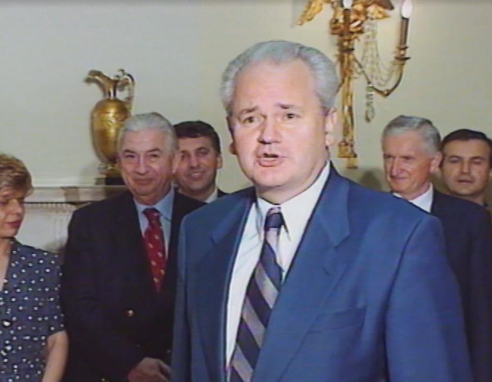 Sale Đorđević i Slobodan Milošević