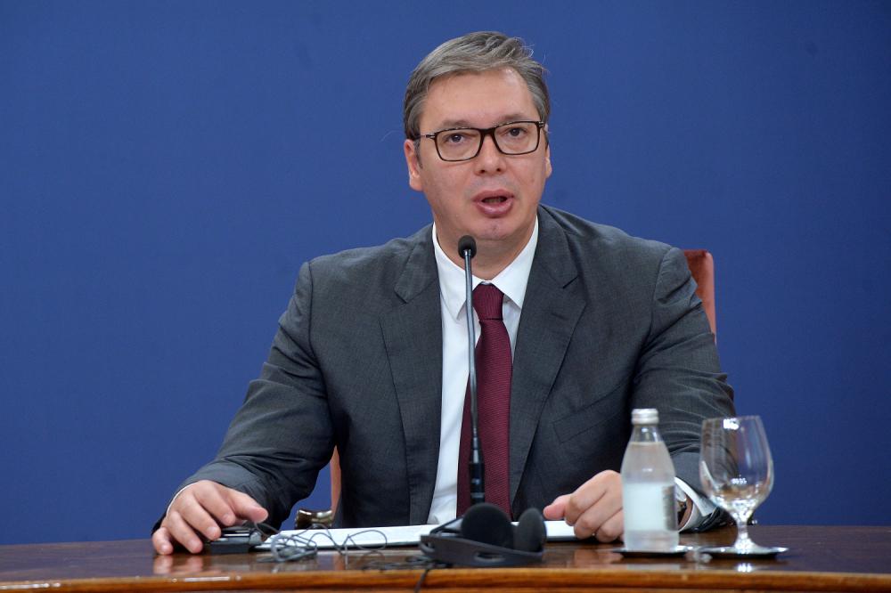 Aleksandar Vučić, Miloš Zeman