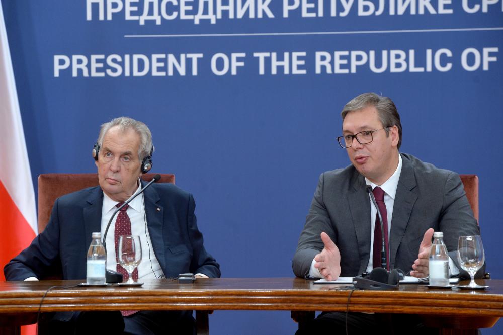 Miloš Zeman Aleksandar Vučić