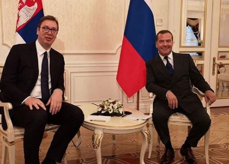 Predsednik Vlade Rusije stiže u Beograd!