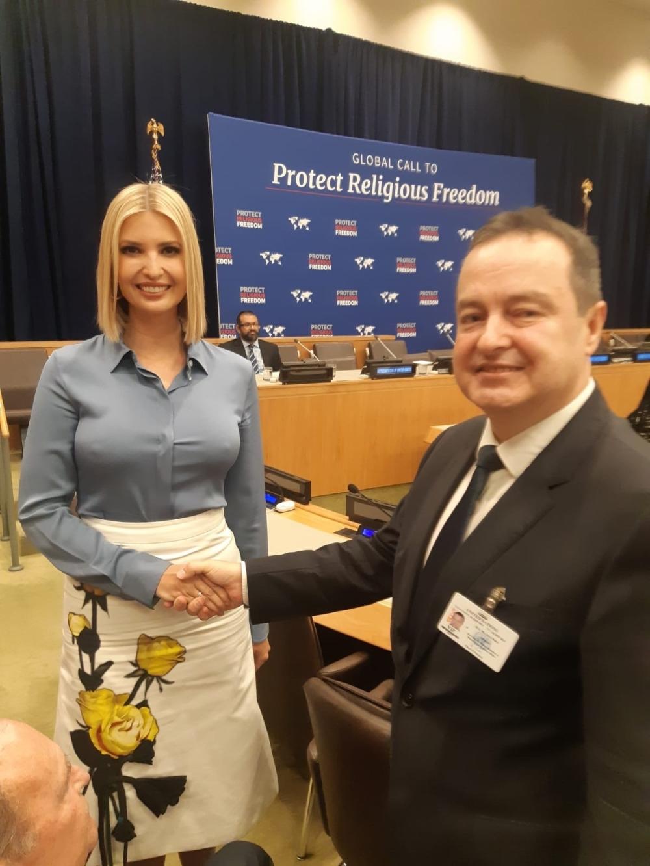 Ivanka Tramp i Ivica Dačić