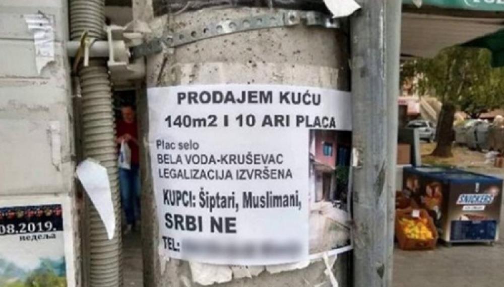 U Beloj Vodi prodaje kuću isključivo Muslimanima i Albancima, u inat komšijama ne da kuću Srbima, jer nisu dobar komšiluk!
