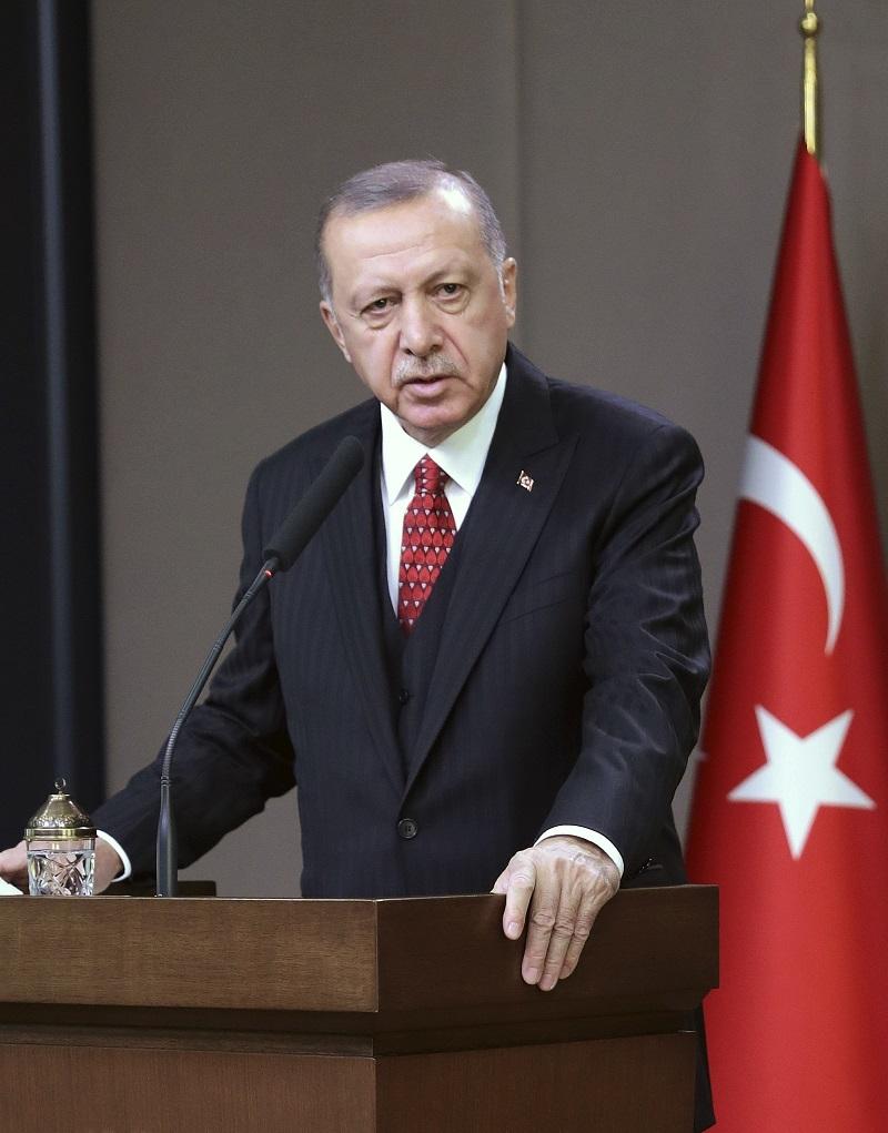 Erdogan okre�e le�a Putinu!