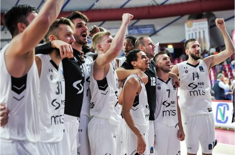 Partizan furioznom igrom došao do preokreta na poluvremenu