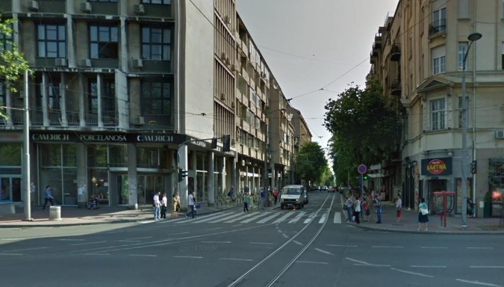 Na Uglu Resavske Ulice I Bulevara Kralja Aleksandra Nasa Kamera