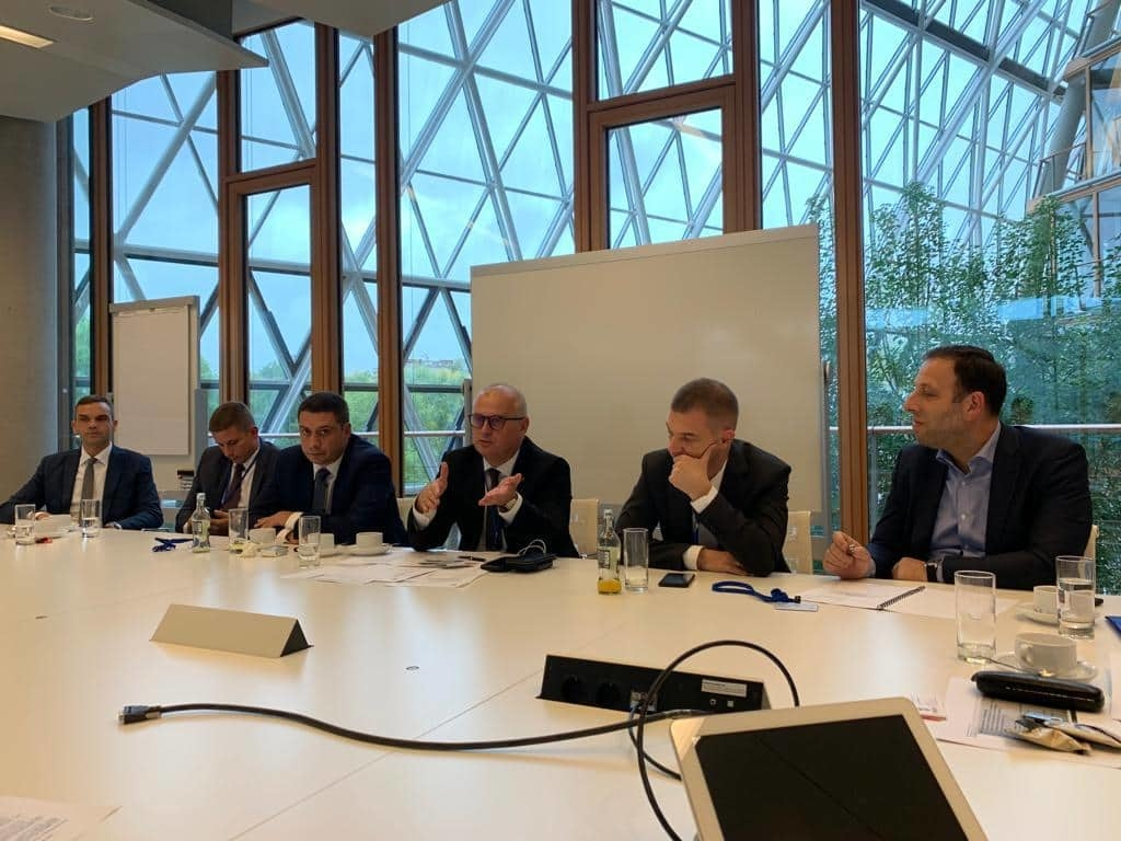 Vesiæ u poseti Evropskoj investicionoj banci u Luksemburgu