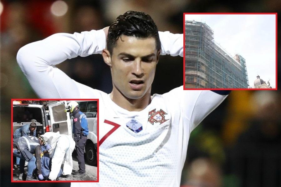 Kristijano Ronaldo nepomièno stajao u šoku kad je saznao za nesreænu vest iz Madrida! (VIDEO)